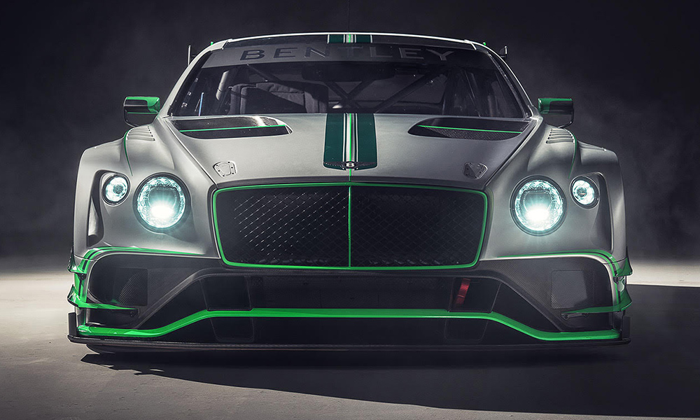 Bentley reveals latest Continental GT3 race vehicle